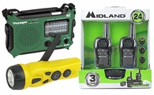 Emergency Radios & Walkie Talkies