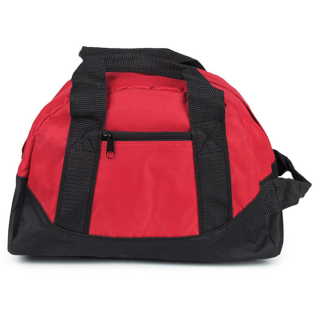 283bd90e9 2 Pocket Mini Duffle Bag - Red and Black - EMT Medical Supply Bags, Packs  and First Aid Kit Containers