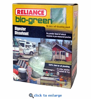 Reliance Bio-Green Waste Digester 12-Pack