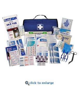 Roll-Bag Medical and First Aid Kit 130-Pieces