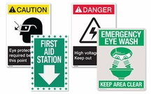 Safety Signs - Danger Warning Signs