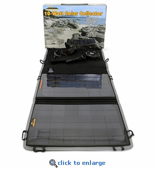 Sierra Wave 10 Watt Solar Collector with Power Hub