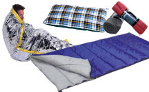 Emergency Solar Blankets, Sleeping Bags, Cots & Airbeds