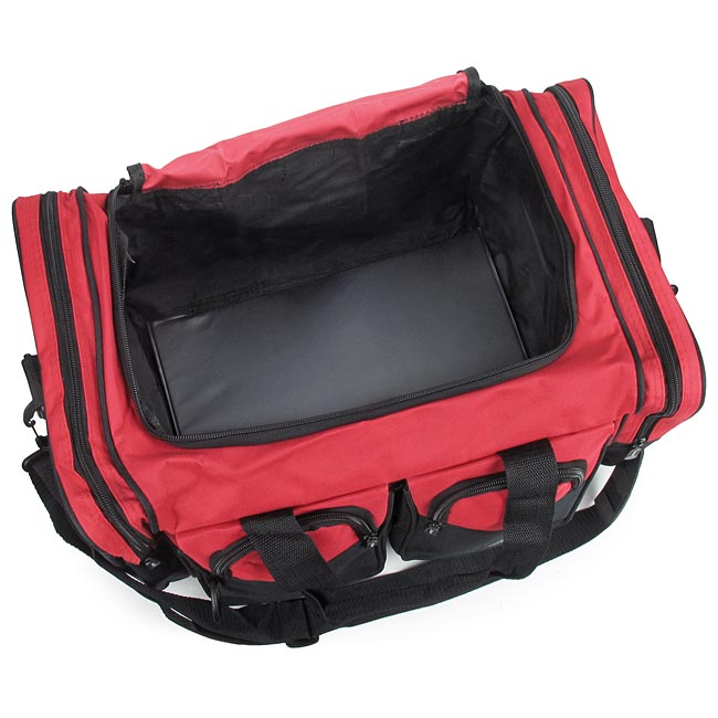 Nexpak Small Red Duffle Bag 18 X 11 12 5 Emt Medical Supply Bags Packs And First Aid Kit Containers