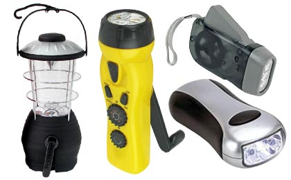 Solar Dynamo Flashlights & Power