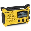 Voyager KA500 Emergency Radio - Solar, Crank, AM/FM/SW NOAA Weather Band - 5 Colors