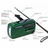 The Voyager V2 - Green - Solar/Dynamo AM/FM/SW NOAA Weather Band Emergency Radio
