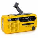 The Voyager V2 - Solar/Dyanamo AM/FM/SW NOAA Weather Band Emergency Radio