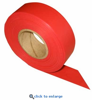 Triage Marking Tape 300' Red