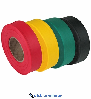 Triage Marking Tapes 300' - 4 Color Set