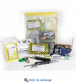 Waterproof Emergency Unit in See Through Heavy Duty Bag