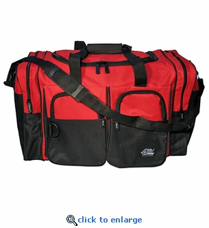 X-Large Red Duffle Bag - 30'' x 15'' x 14''