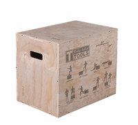 Body Solid 3-in-1 Wood Plyo Box