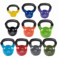 Body Solid 5 -50lb Vinyl Coated Kettle Bell Set $599.99