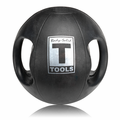 Body Solid BSTDMB16 16lb Dual Grip Medicine Ball
