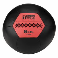 Body Solid BSTSMB6 6lb Wall Ball $59.99
