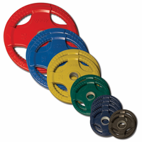 Body Solid Colored Rubber Olympic Weight Plate Set - 255lbs $599.99
