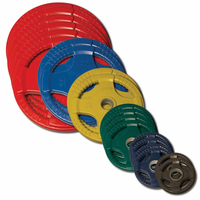 Body Solid Colored Rubber Olympic Weight Plate Set - 455lbs $959.00