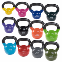 Body Solid Extra 5-50lb Vinyl Coated Kettle Bell Set $629.99