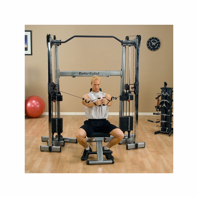 Functional Training: Body Solid GDCC200 Functional Training Center