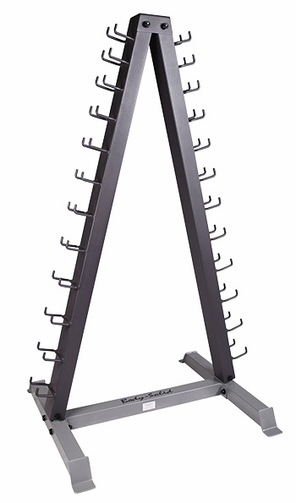Body Solid GDR24 Vinyl/Neoprene Dumbbell Rack