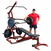 Body Solid GLGS100P4 Corner Leverage Gym Package $1,315.00