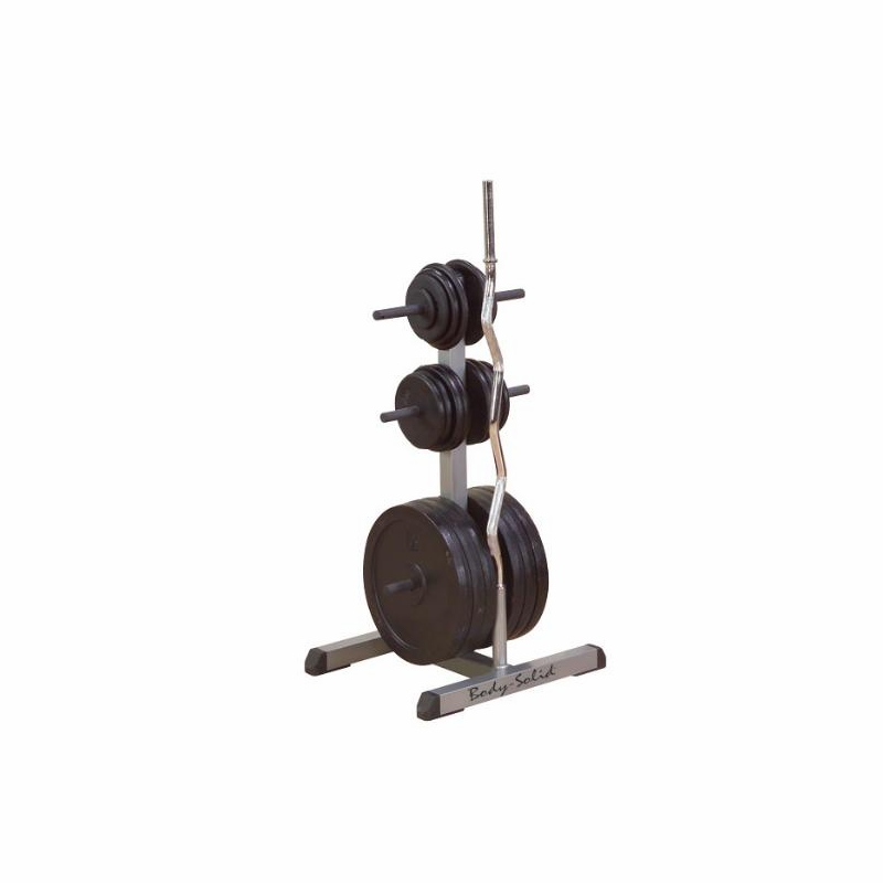 Troy Weight Tree: Body Solid GOWT Olympic Weight Tree & Bar Rack