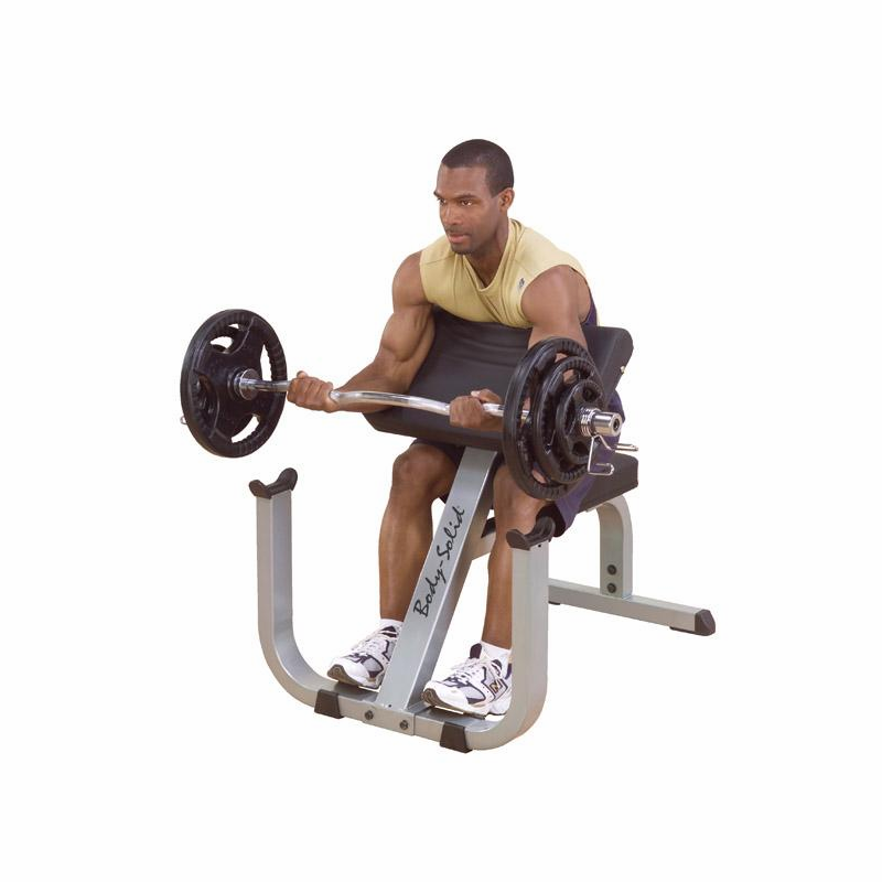 Hoist Preacher Bench: Body Solid GPCB329 Preacher Curl Bench