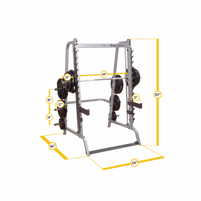solid 7 series smith machine