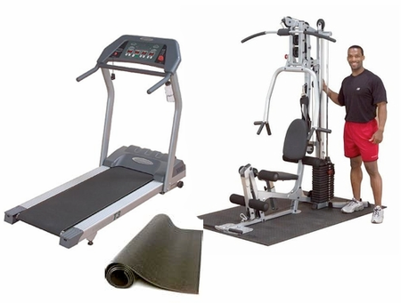 Body Solid Home Gym/Treadmill Combo