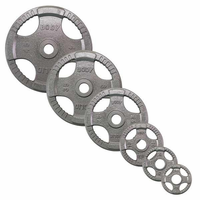 Body Solid Olympic Grip Weight Plate Set - 255lbs $509.99