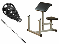 Body Solid Preacher Curl Bench Package $519.99