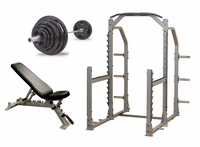 Body Solid Premium Power Rack Gym Package $2,149.00