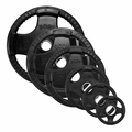 Body Solid Rubber Olympic Weight Plate Set - 455lbs