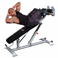 Body Solid SAB500 Pro Clubline Adjustable Ab Bench $650.00
