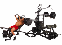 Body Solid SBL460P4 Powerlift Leverage Gym