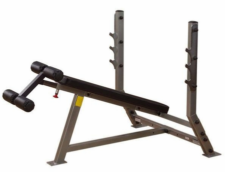 Body Solid SDB351G Pro Club Decline Olympic Bench
