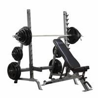 Body Solid SDIB370 Olympic Bench Rack Combo $1,045.00