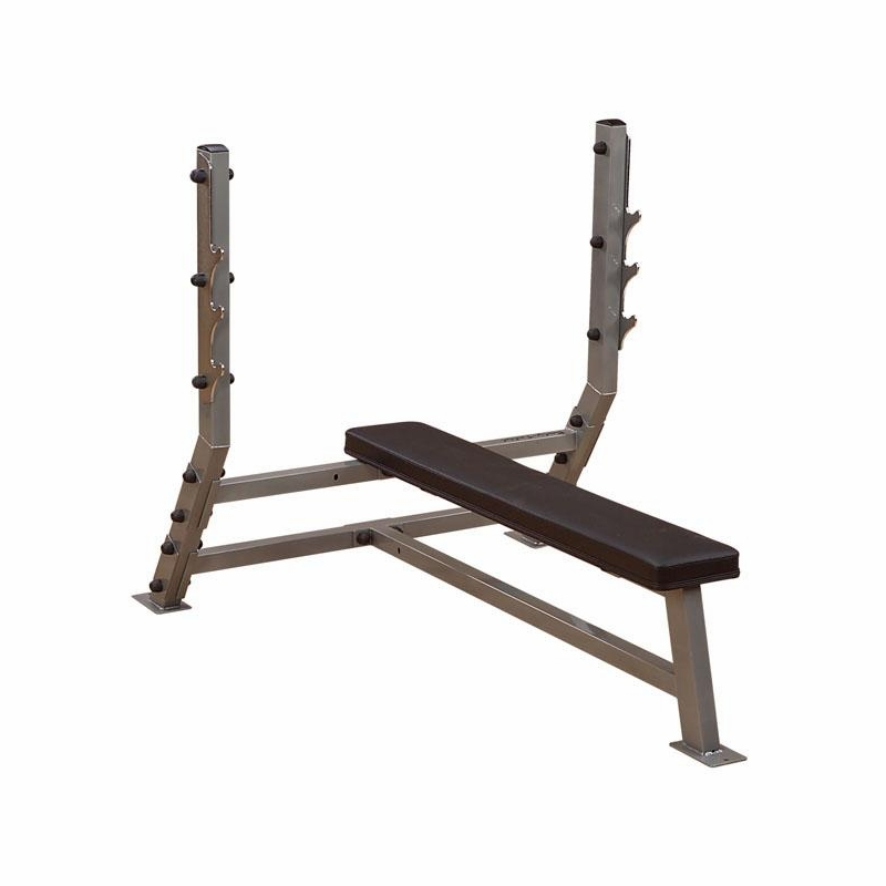 Body Solid Sfb349g Pro Club Flat Olympic Bench