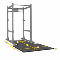 Body Solid SPRPLATFORM Power Rack Floor Mat