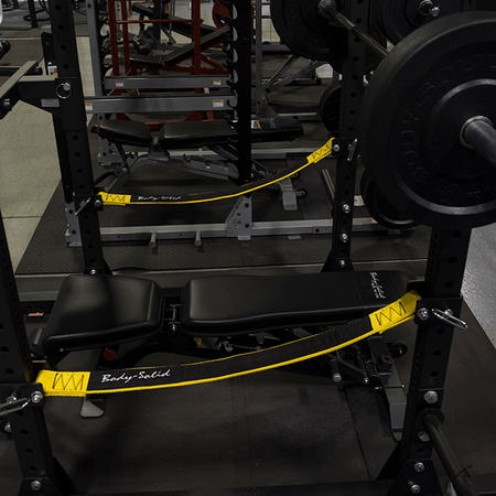 Body Solid SPRSS Power Rack Safety Straps