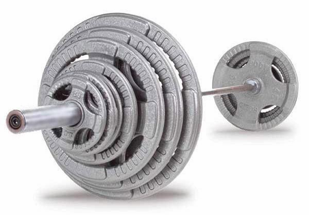 Body Solid Steel Grip Olympic Weight Set