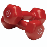 Body Solid Vinyl Dumbbell Set: 1lb - 10lbs $269.99
