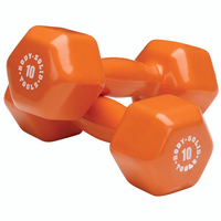 Body Solid Vinyl Dumbbell Set 3,5,8,10lb $129.99