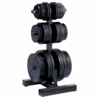 Body Solid WT46 PowerLift Olympic Weight Tree $149.99