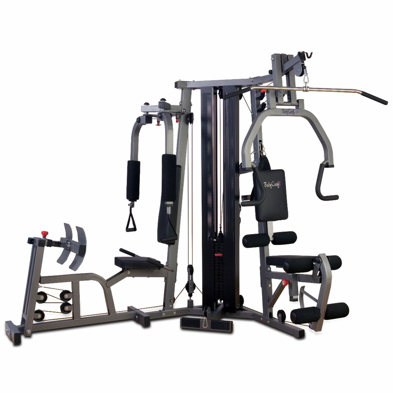 Bodycraft galena home gym w leg press shrouds