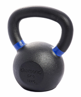 Diamond Pro 12kg (26lb) Iron Kettle Bell $62.99