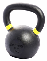Diamond Pro 16kg (35lb) Iron Kettle Bell