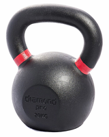 Diamond Pro 20kg (44lb) Iron Kettle Bell $95.99