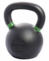 Diamond Pro 24kg (53lb) Iron Kettle Bell